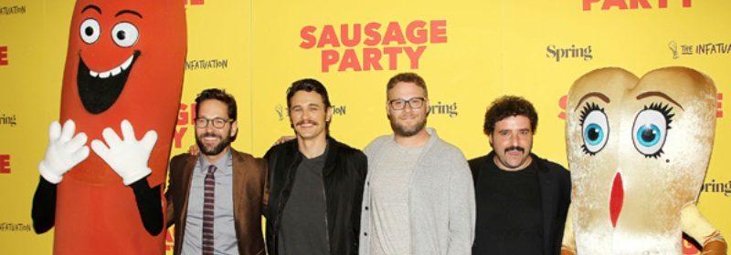 Frank,Paul Rudd,James franco, Seth Rogen,David Krumholtz and Brenda