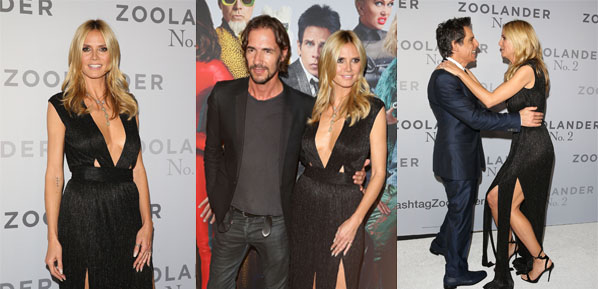 SYDNEY, AUSTRALIA - JANUARY 26:  Heidi Klum and Thomas Hayo attend the Sydney Fan Screening Event of the Paramount Pictures film 'Zoolander No. 2' at the State Theatre on January 26, 2016 in Sydney, Australia.  (Photo by Caroline McCredie/Getty Images for Paramount Pictures) *** Local Caption *** Heidi Klum; Thomas Hayo