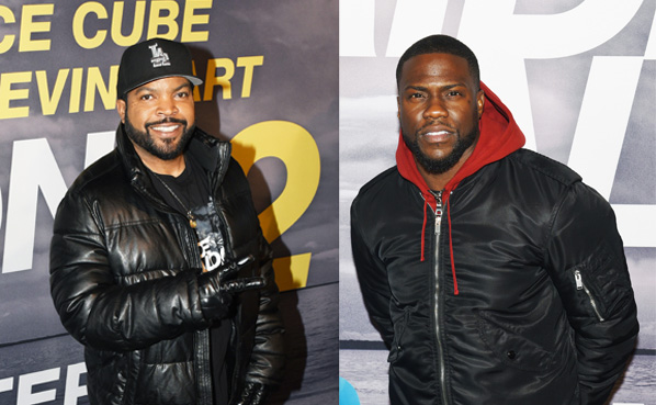 AMSTERDAM Ride Along 2 filmpremiere en photocall.  Ice Cube rapper - acteur.