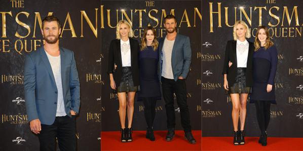 Chris Hemsworth Photocall THE HUNTSMAN & THE ICE QUEEN in Hamburg am 30.03.2016.
