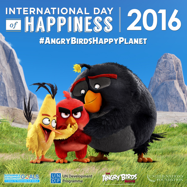 Angry Birds - Social Graphic - Happiness